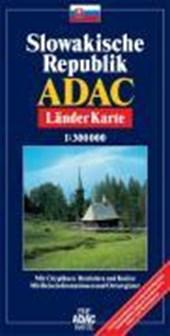 ADAC LänderKarte Slowakische Republik 1 :