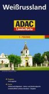 ADAC LänderKarte Weißrussland 1 :