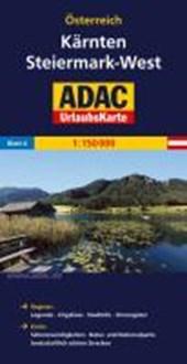 ADAC UrlaubsKarte Österreich 04. Kärnten, Steiermark-West 1 :