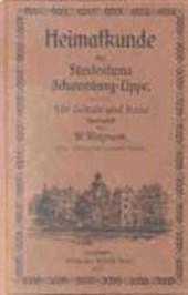 Heimatkunde des Fürstentums Schaumburg-Lippe
