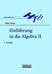 Einführung in die Algebra II