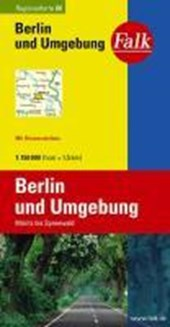Falk Regionalkarte 06. Berlin und Umgebung. 1 :