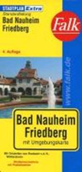 Falk Stadtplan Extra Standardfaltung Bad Nauheim, Friedberg