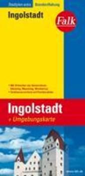 Falk Stadtplan Extra Standardfaltung Ingolstadt