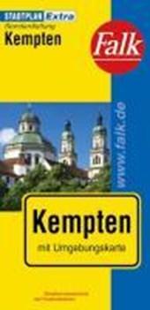 Falk Stadtplan Extra Standardfaltung Kempten 1:17