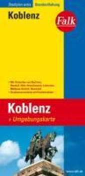 Falk Stadtplan Extra Standardfaltung Koblenz 1 :