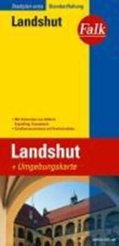Falk Stadtplan Extra Standardfaltung Landshut 1 :