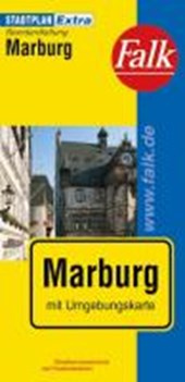 Falk Stadtplan Extra Standardfaltung Marburg 1 :