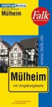Falk Stadtplan Extra Standardfaltung Mülheim an der Ruhr mit Ortsteilen von