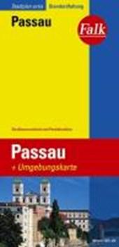 Falk Stadtplan Extra Standardfaltung Passau 1 :