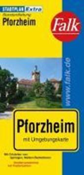 Falk Stadtplan Extra Standardfaltung Pforzheim 1 :
