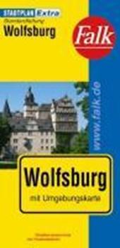 Falk Stadtplan Extra Standardfaltung Wolfsburg 1:21