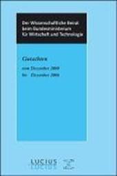 Gutachten vom Dezember 2000 bis Dezember 2006