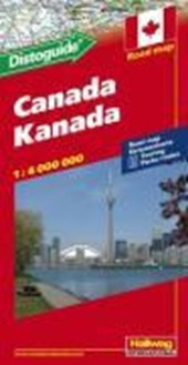 Kanada Strassenkarte