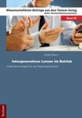 Intergeneratives Lernen im Betrieb