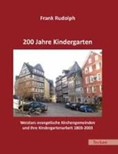 200 Jahre Kindergarten