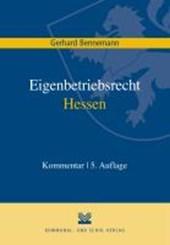 Das Eigenbetriebsrecht in Hessen