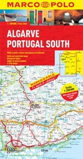 Algarve, Portugal South Marco Polo Map |  |