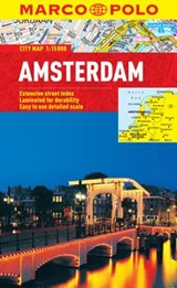 Amsterdam Marco Polo City Map | Marco Polo |