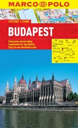Budapest Marco Polo City Map |  |