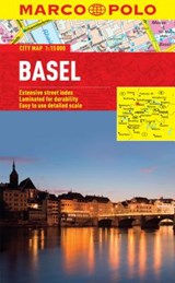 Basel Marco Polo Laminated City Map | Marco Polo Travel Publilshing |