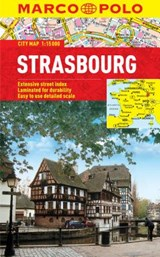 Marco Polo City Map Strasbourg | Marco Polo Travel Publilshing |