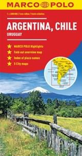 Argentina/Chile Map | Marco Polo Travel Publilshing |