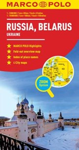 Russia/Belarus Map | Marco Polo Travel Publilshing |