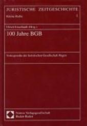 100 Jahre BGB