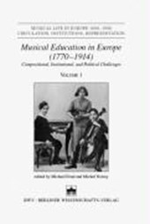 Musical Education in Europe (1770-1914)