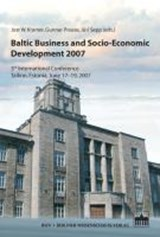 Baltic Business and Socio-Economic Development | auteur onbekend |