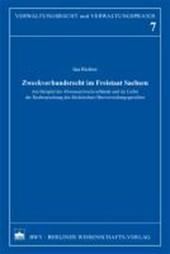 Zweckverbandsrecht im Freitstaat Sachsen