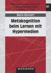 Metakognition beim Lernen mit Hypermedien