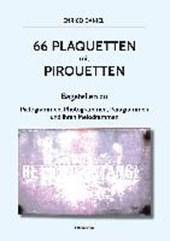 66 Plaquetten mit Pirouetten