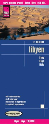 Reise Know-How Landkarte Libyen (1:1.600.000)