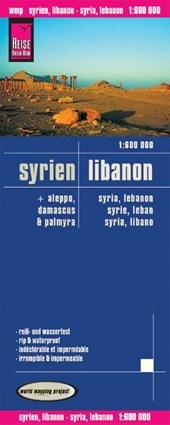 Reise Know-How Landkarte Syrien, Libanon (1:600.000)