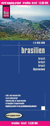 Reise Know-How Landkarte Brasilien 1 :