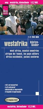 Reise Know-How Landkarte Westafrika, Küstenländer (1:2.200.000): Senegal bis Nigeria