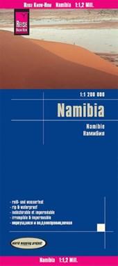 Reise Know-How Landkarte Namibia 1 : 1.200.000
