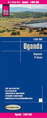 Reise Know-How Landkarte Uganda (1:600.000) | auteur onbekend |