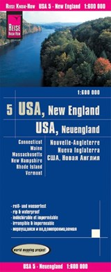World Mapping Project USA 05 Neuengland 1 : | auteur onbekend |