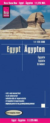 Reise Know-How Landkarte Ägypten (1:1.125.000) |  |