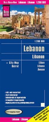 Reise Know-How Landkarte Libanon / Lebanon (1:200.000)
