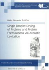 Single Droplet Drying of Proteins and Protein Formulations via Acoustic Levitation