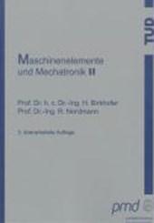 Maschinenelemente und Mechatronik II