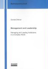 Management and Leadership | Gonde Dittmer |