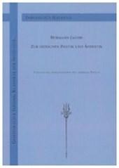 Hermann Jacobi zur indischen Poetik und Ästhetik