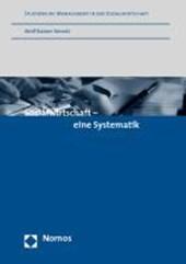 Sozialwirtschaft - eine Systematik