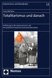 Totalitarismus und danach