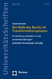 Die Rolle des Rechts im Transformationsprozess